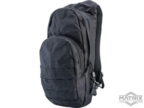 Matrix Field Day Pack Bag Backpack w/ 2.5L Hydration Bladder System Black NEW