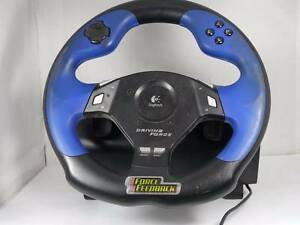 Logitech Driving Force Wheel (PS2) Yatala Vale Tea Tree Gully Area Preview