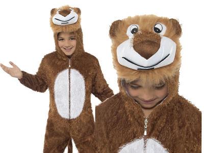 Dschungel Löwe Kinder Kostüm Tier Buch Woche Zoo Jungen Mädchen Kinder Outfit - Dschungel Mädchen Kostüm
