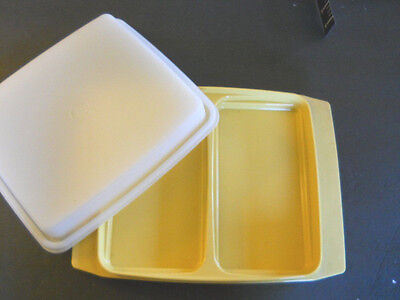 Tupperware Deviled Egg Tray # 723-2 with Lid #722  Milennium Classics Collection