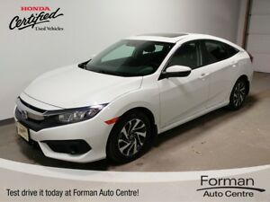 2016 Honda Civic EX - Winter tires & Rims | Remote start | Se...