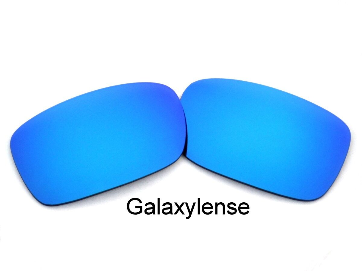 7a639a0165 Details about Galaxy Replacement Lenses For Oakley Crankcase Sunglasses  Blue Polarized