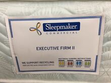 SLEEPMAKER MATTRESSES RANGE – BRAND NEW, CLEARANCE AND EX HOTEL Logan Central Logan Area Preview