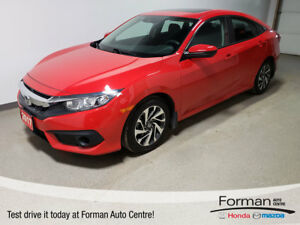 2017 Honda Civic EX| Rmt Start|Camera|Local|Clean