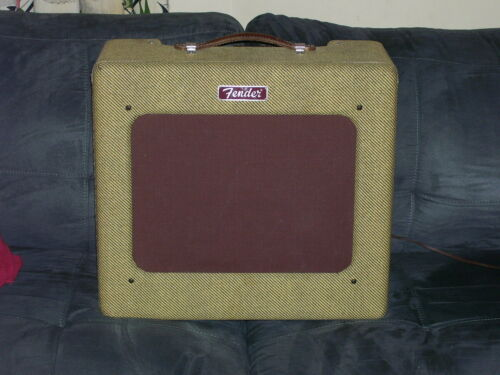 FENDER 1953 ? TV FRONT ORIGINAL TWEED DELUXE AMP