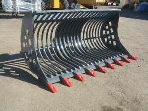 AU RAKE BUCKET TO SUIT CAT OR KOMATSU LOADER - AU18RAKECATIT2500 Kewdale Belmont Area Preview