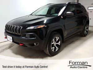 2016 Jeep Cherokee Trailhawk - Like new | Leather | Bluetooth