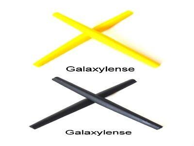 Galaxy Ear Socks For Oakley C Wire New 2011,Half Wire 2.0,Whisker Black/Yellow comprar usado  Enviando para Brazil