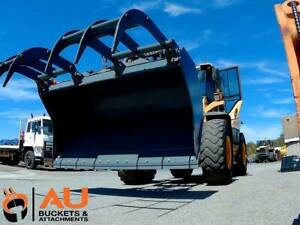 GP BUCKET WITH BOCE & HYD GRAPPLE TO SUIT CATIT PICKUPS (sd) Kewdale Belmont Area Preview