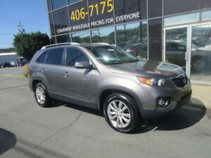 2011 Kia Sorento 3.5L V6 AWD SUV W/ ALLOYS HEATED SEATS LEATHER