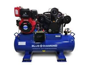 Piston Air Compressor- Diesel 11HP 42 CFM 160L 145 PSI Kewdale Belmont Area Preview