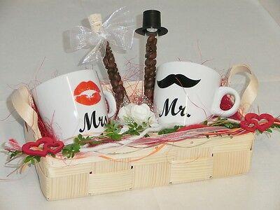 TOP Geldgeschenk Geschenk zur Hochzeit MRS & MR