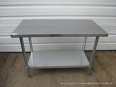 New Stainless Steel Work Prep Table 48 X 24 Nsf