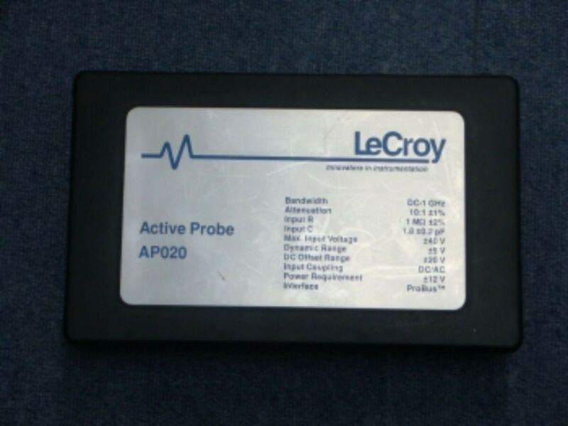 LeCroy AP020 DC-1GHz Active Probe