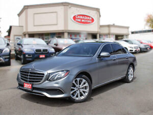2017 Mercedes Benz E-Class 4 MATIC | CLEAN CARFAX | FACTORY MATT