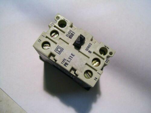SCHNEIDER SQ SQUARE D 8501-PR1.11E CTRL RELAY120VAC 10A/500V P3096B