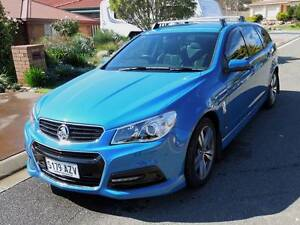 2014 HOLDEN COMMODORE SV6 WAGON (Setup for caravan/camper towing) Hillbank Playford Area Preview