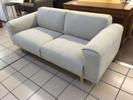 2 SEATER FABRIC PEBBLE (2 IN STOCK) Logan Central Logan Area Preview