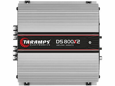 Taramps DS 800X2 800 watts 2 Ohms Amplifier Class D 2 Channel 800W RMS w Warrant comprar usado  Enviando para Brazil