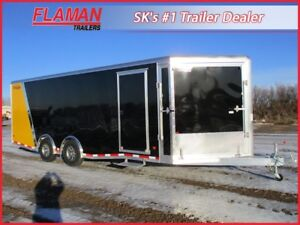 High Country 26' Snowmobile Trailer - 4 Place Boondocker Series!