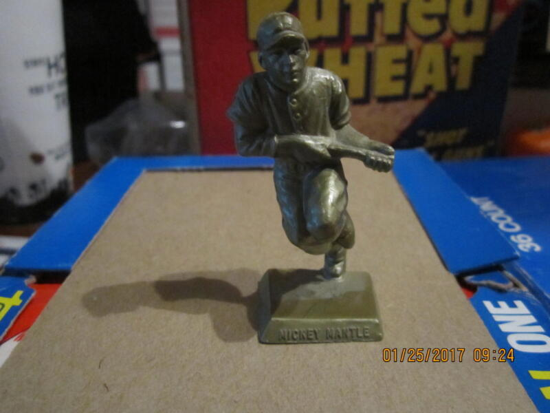 1956 Big League Stars Statues -- Mickey Mantle Yankees