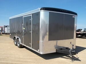 2017 Haulin HACX8520TA3 Enclosed Car Hauler Trailer