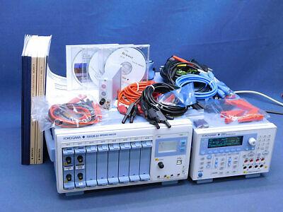 Yokogawa 720120-s1 Impedance Analyzer 72021 Source Measure Unit Ex