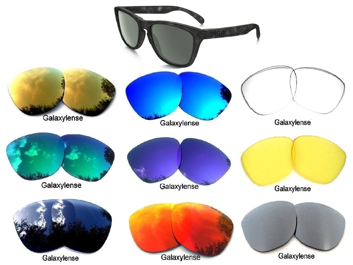 959b6fc580 Galaxy Replacement Lenses For Oakley Frogskins Multi-Color Polarized