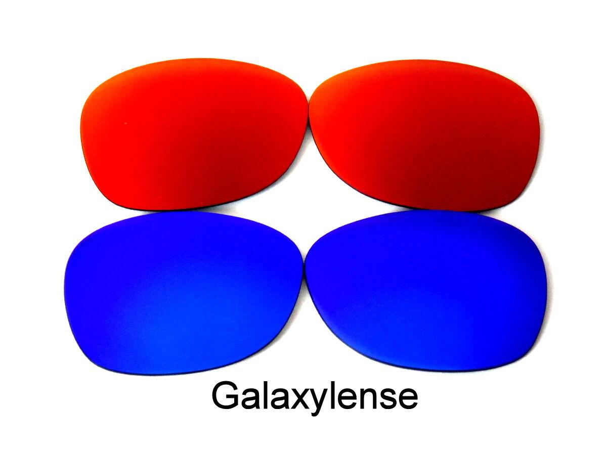 095ee60326777 Lentes de recambio de galaxia para Ray Ban RB3025 aviador azul   rojo 62mm  polarizado