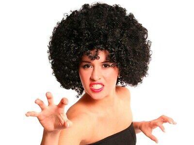Schwarze Mega Funky Party XXL Afro-Perücke Karneval Kostüm Fasching - Schwarz Afro Perücke Kostüm