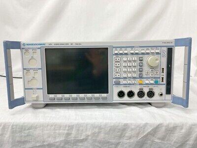 Rohdeschwarz Upv B3k4 Audio Analyzer