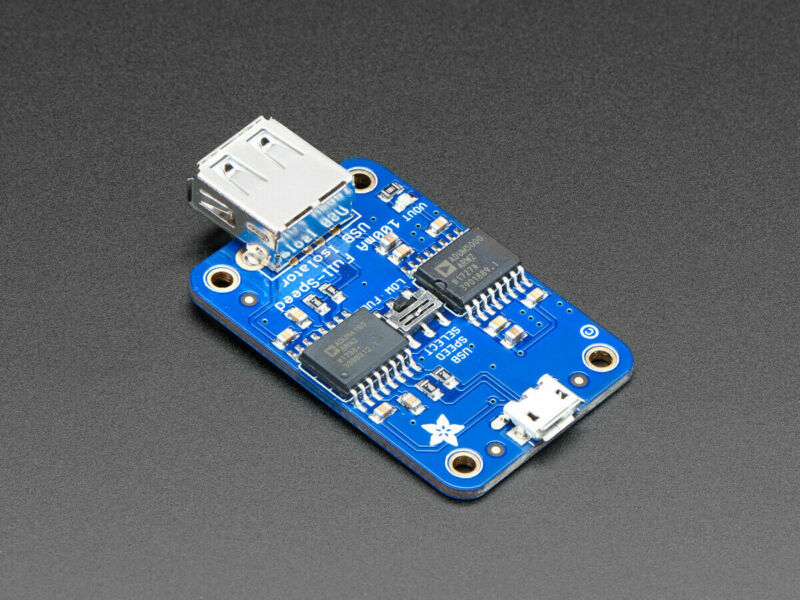 [3DMakerWorld] Adafruit USB Isolator - 100mA Isolated Low/Full Speed USB