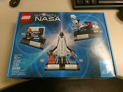 Lego 21312 Women Of Nasa   231 Pieces   Brand New Factory Sealed   Usps 3 Day