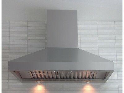 "PROFESSIONAL RANGE HOOD 42"" WITH MECHANICAL  SWITCHES. 5 YEARS WARRANTY"