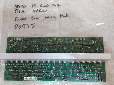 Emco F1 Cnc Mill F1a 113000 Pcb  0097j