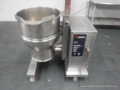 Groen Dee4-20 Electic Steam Jacketed Tilting Kettle 20 Gallons