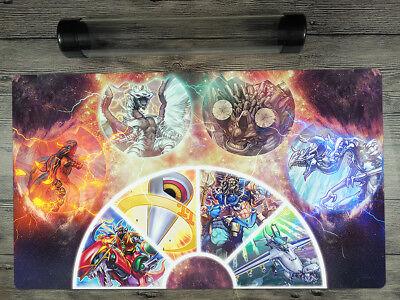 YuGiOh Dragon Ruler Deck Custom Playmat Trading Card Game CCG Mat Free Best