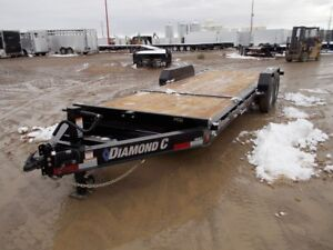 2019 Diamond C 48HDT 22' Industrial Flatdeck Trailer