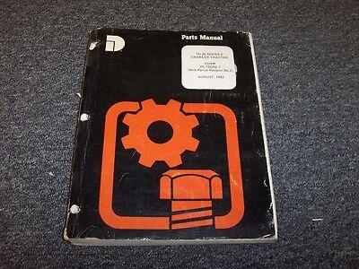 Dresser Td25e Bulldozer Dozer Crawler Tractor Original Parts Catalog Manual Book