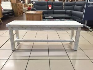 NEW HAVEN BENCH 120 WHITE WASH Logan Central Logan Area Preview