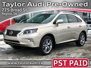 2014 Lexus RX 350 1 OWNER, LOCAL TRADE, PST PAID, LOW KM, TOU...