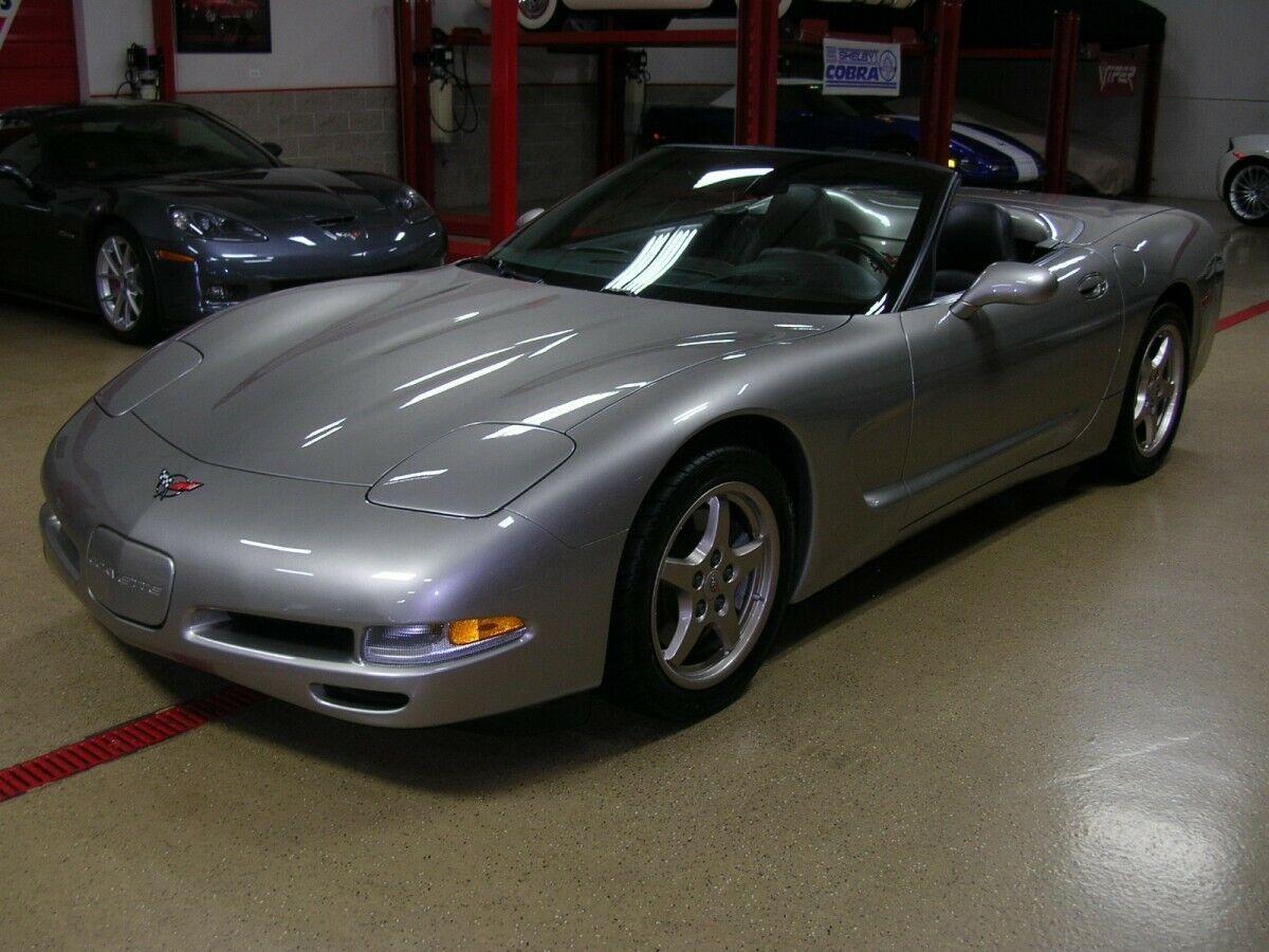 1999 Gray Chevrolet Corvette     C5 Corvette Photo 1
