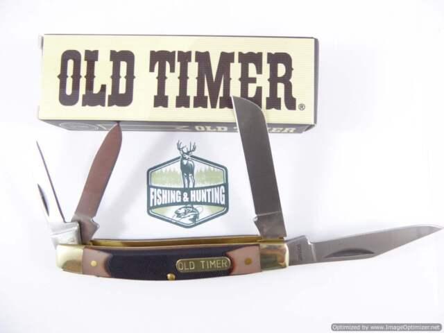 Old Timer Workmate 44OT pocket knife, 4 Blade Pocket knife, hunting knife