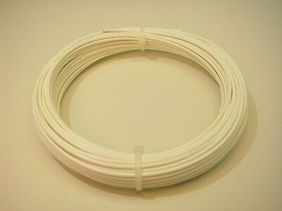 50 Mil-spec 20-awg Electrical Wire 19-strands White-pvfkynar Us-seller