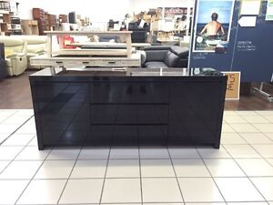 3 DRAWER 2 DOOR BLACK GLOSS BUFFET Coomera Gold Coast North Preview
