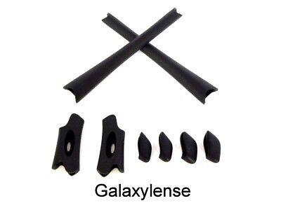 Earsock & Nose Pad Rubber Kits For Oakley Flak Jacket XLJ Sunglasses (Flak Jacket Xlj Sunglasses)