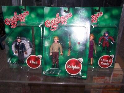 Neca A Christmas Story action figures Ralphie Flick Mom & Randy lot, used for sale  Shipping to India
