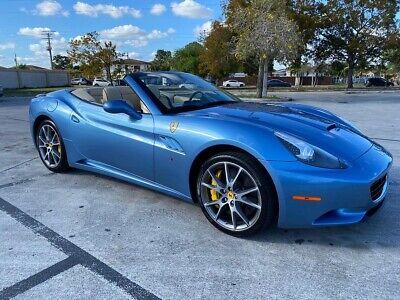 2011 Ferrari California $197K MSRP! LOW MILES RARE AZZURRO CALIFORNIA BLUE 2011 FERRARI CALIFORNIA 4.3L V8 F RWD * SUPER RARE AZZURRO CALIFORNIA BLUE