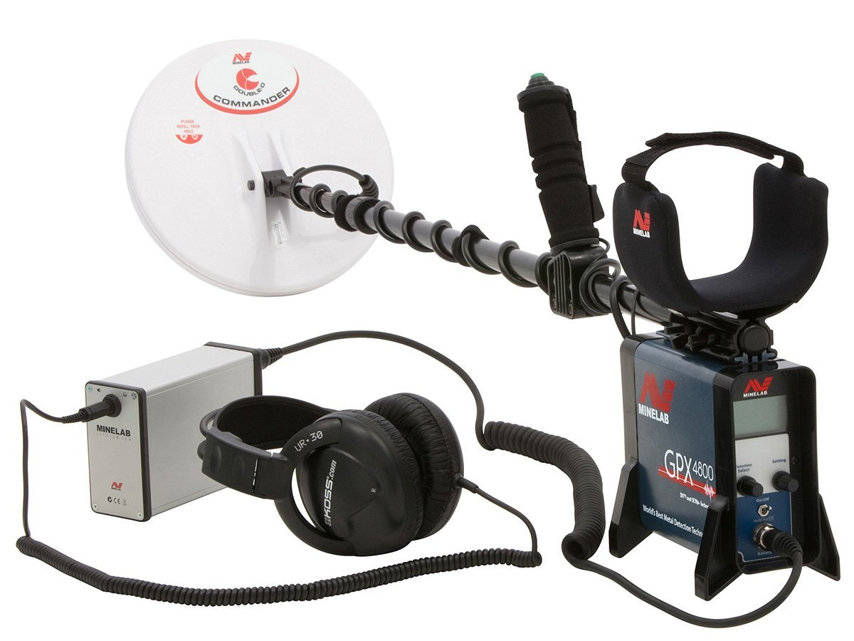Minelab GPX4800 Metal Detector Spanish Version
