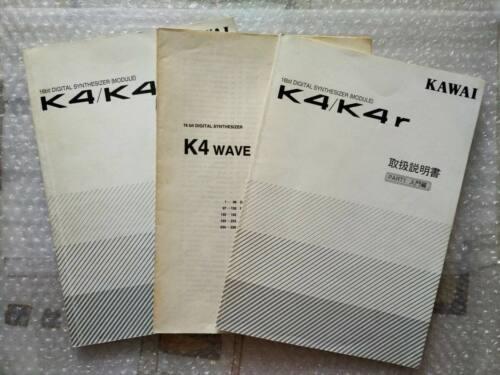 KAWAI K4 K4R synths Japanese owner